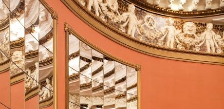 Interiører og facader i Teatermuseet i Hofteatret